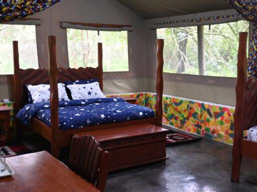 tented safari lodges